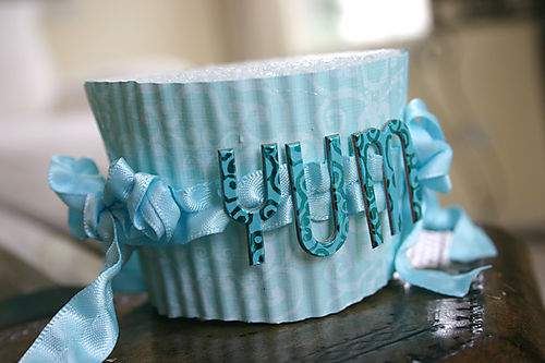 Blog cupcakes blue half