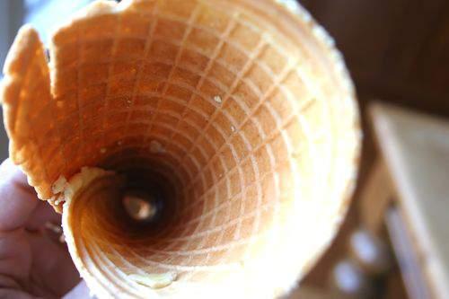 Blog waffle cones