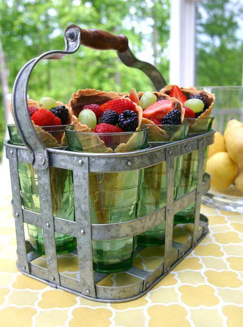 Blog waffle cone fruit 3