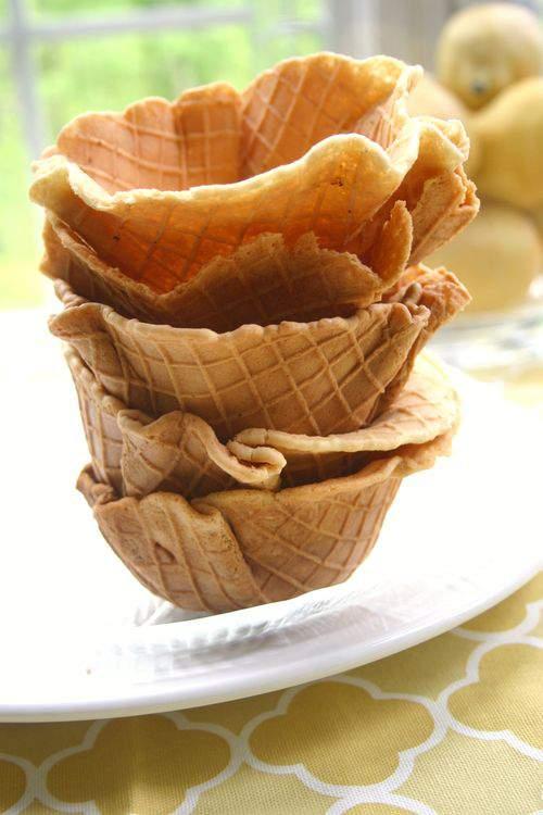 Blog waffle cones bowls