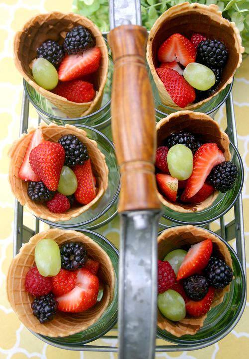Blog waffle cone fruit 2