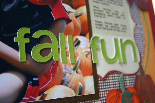 Blog fall fun letters