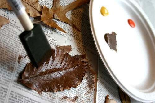 Blog leaves paint