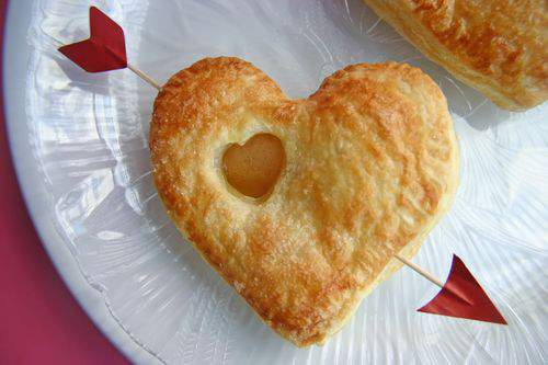 Blog hearts pastries