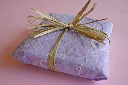 Blog soap raffia