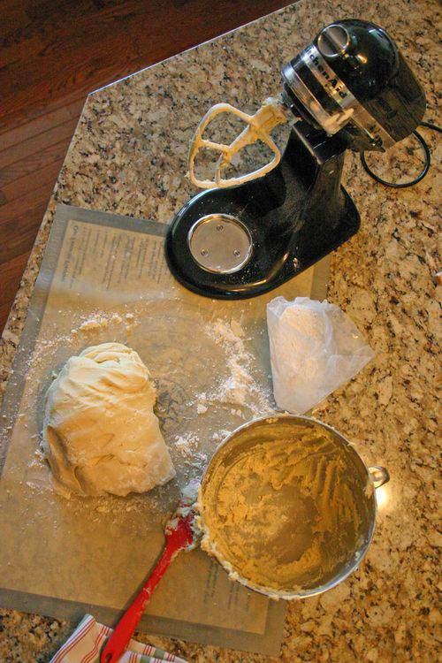 Blog springerle dough