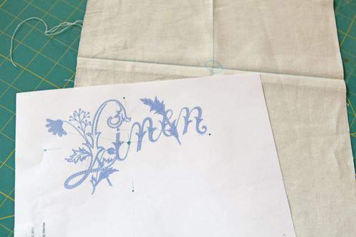 Blog vintage linens template