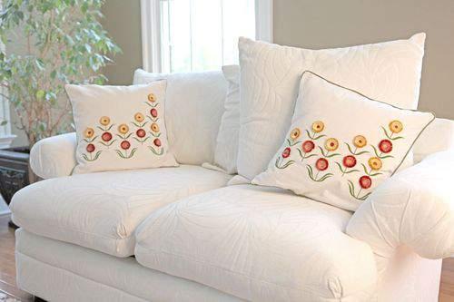 Blog pillow project sofa