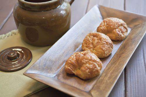 Blog food styling croissant