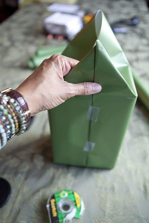 Blog gift wrap paper