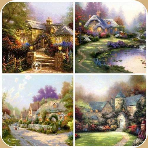 Blog pincusion mosaic frame