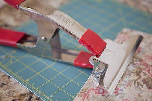 Blog clip board vice