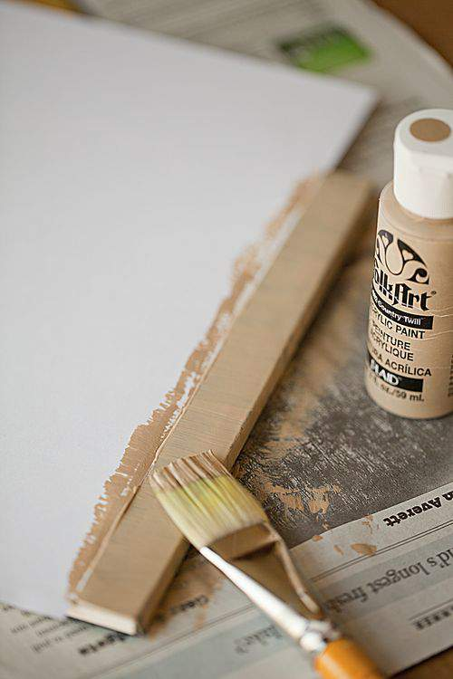 Blog clip board paint