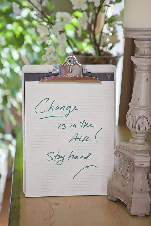 Blog clip board note