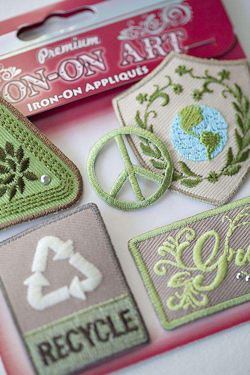 Earth day appliques