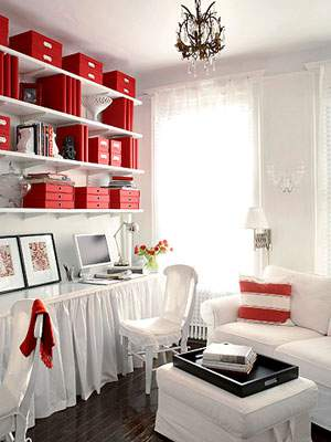 Red storage solutions