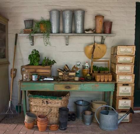 garden shed wall