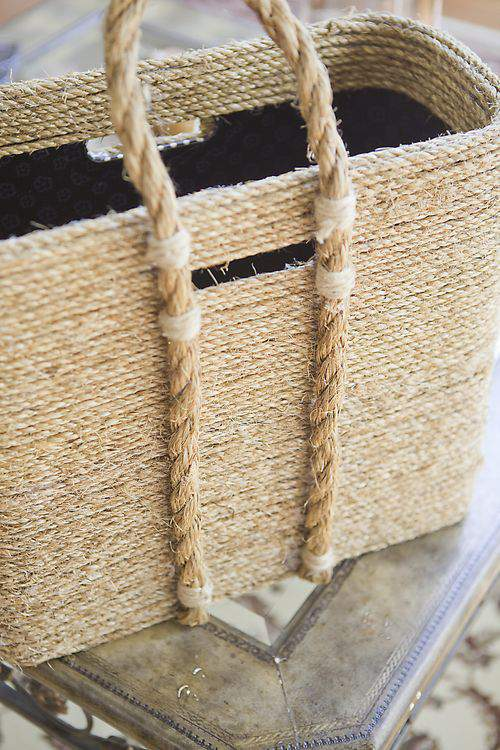 handcrafted basket