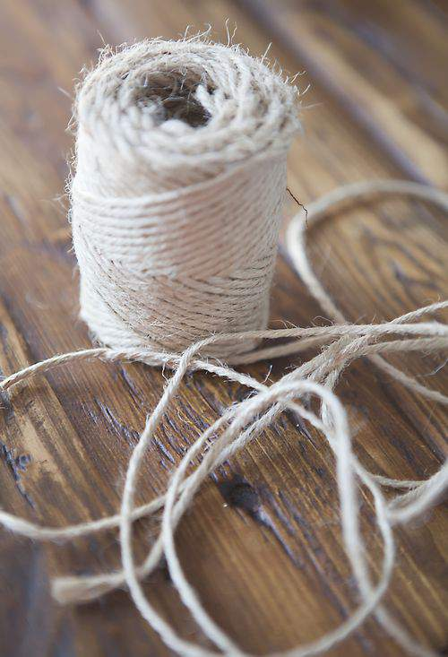 burlap rope