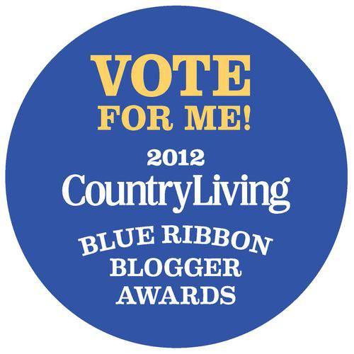 2012 Country Living Magazine Blogger Award Finalist