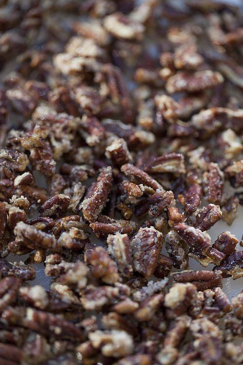 carmelized pecans