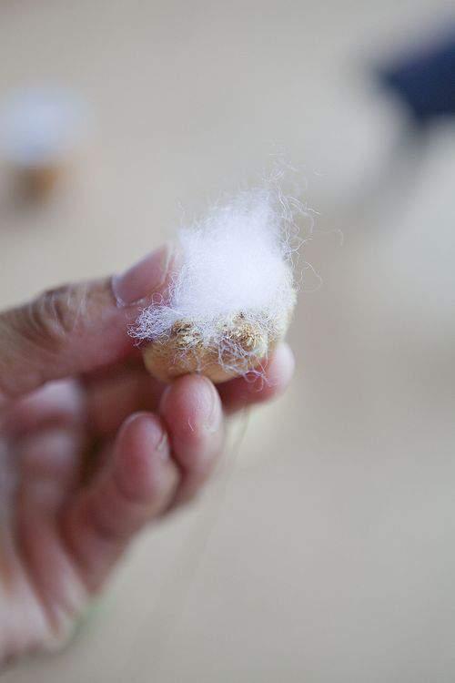 stuffing soft acorn