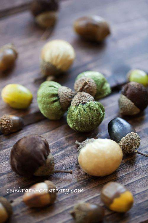 Blog velvet pumpkin acorns watermark