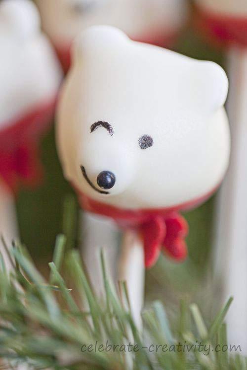 polar bear wink
