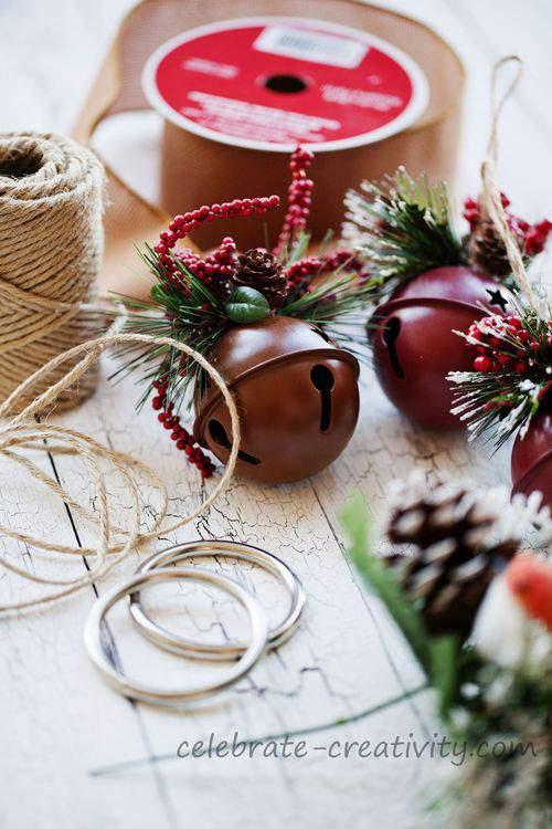 Jingle bell door hanger supplies