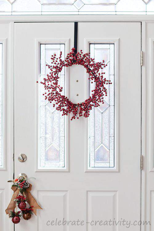 Holiday front door