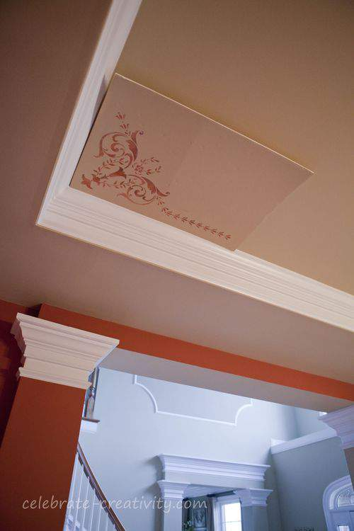stencil practice board view