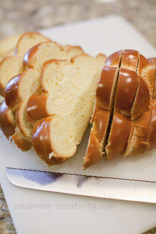 Challah slices