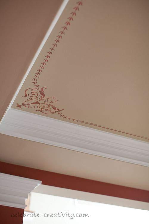 ceiling corner stencil