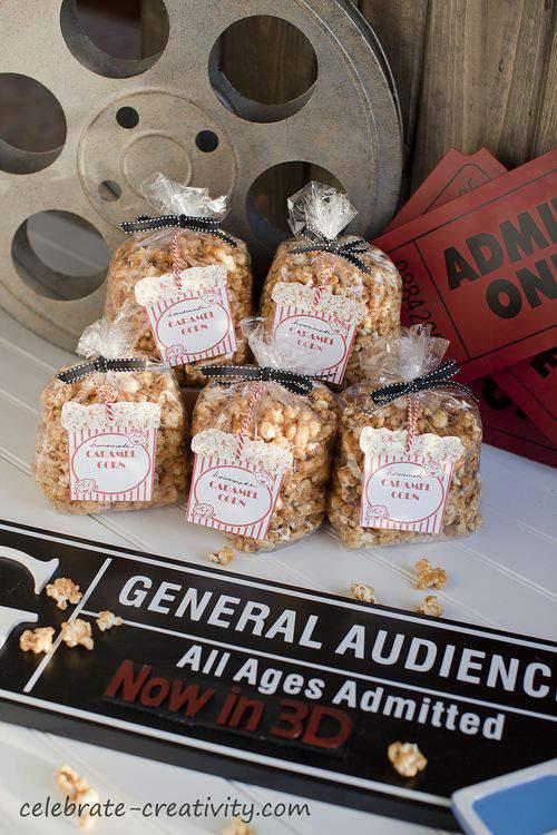 caramel corn bags