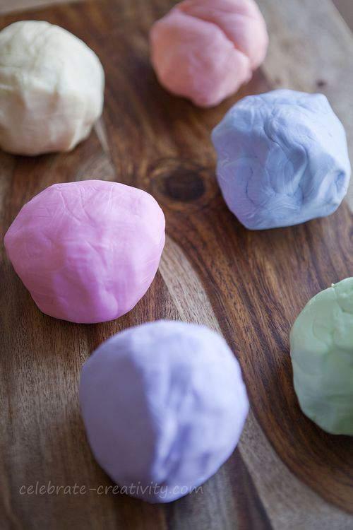 pastel fondant balls