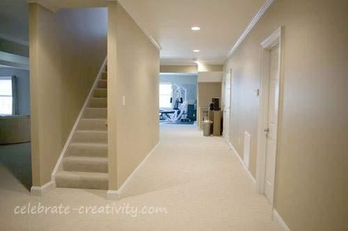 basement aisle