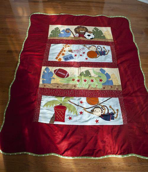baby bumper quilt