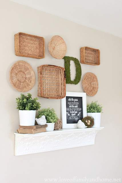 Love of Family and Home Wall Display