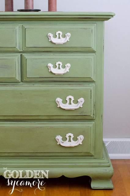 Golden Sycamore Spring Dresser Makeover