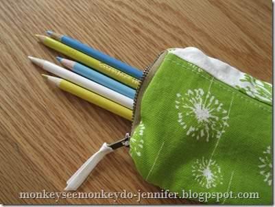 Monkey See, Monkey Do Pencil Case
