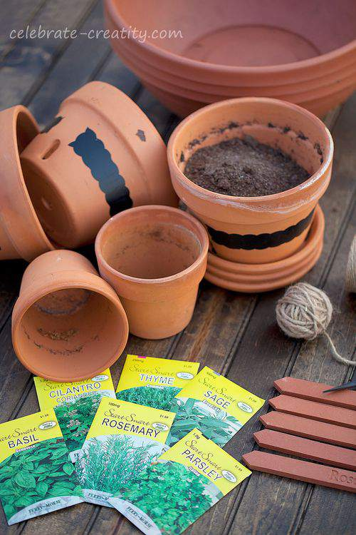 herb garden supplies
