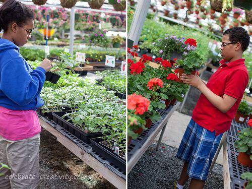 garden center kids