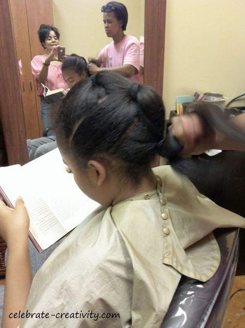 hair twisting