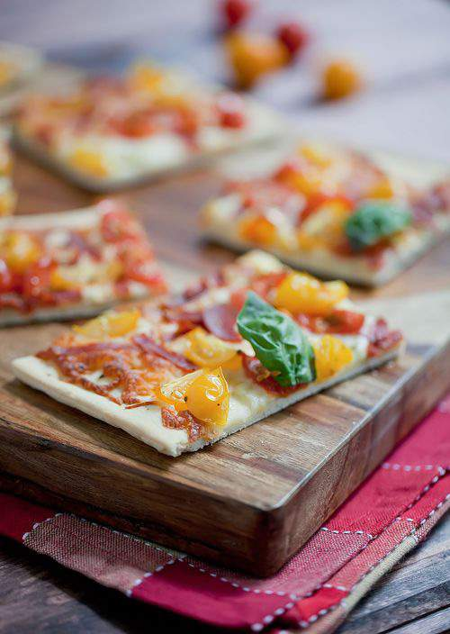 Homemade Pizza Snack