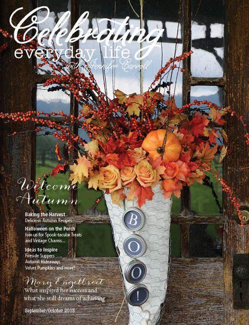 GOOD READS  Celebrating Everyday Life with Jennifer Carroll  September-October 2013