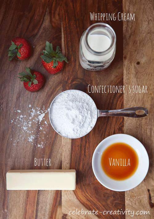 Butter cream ingredients