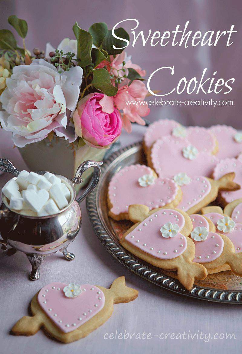 Sweetheart cookie graphic