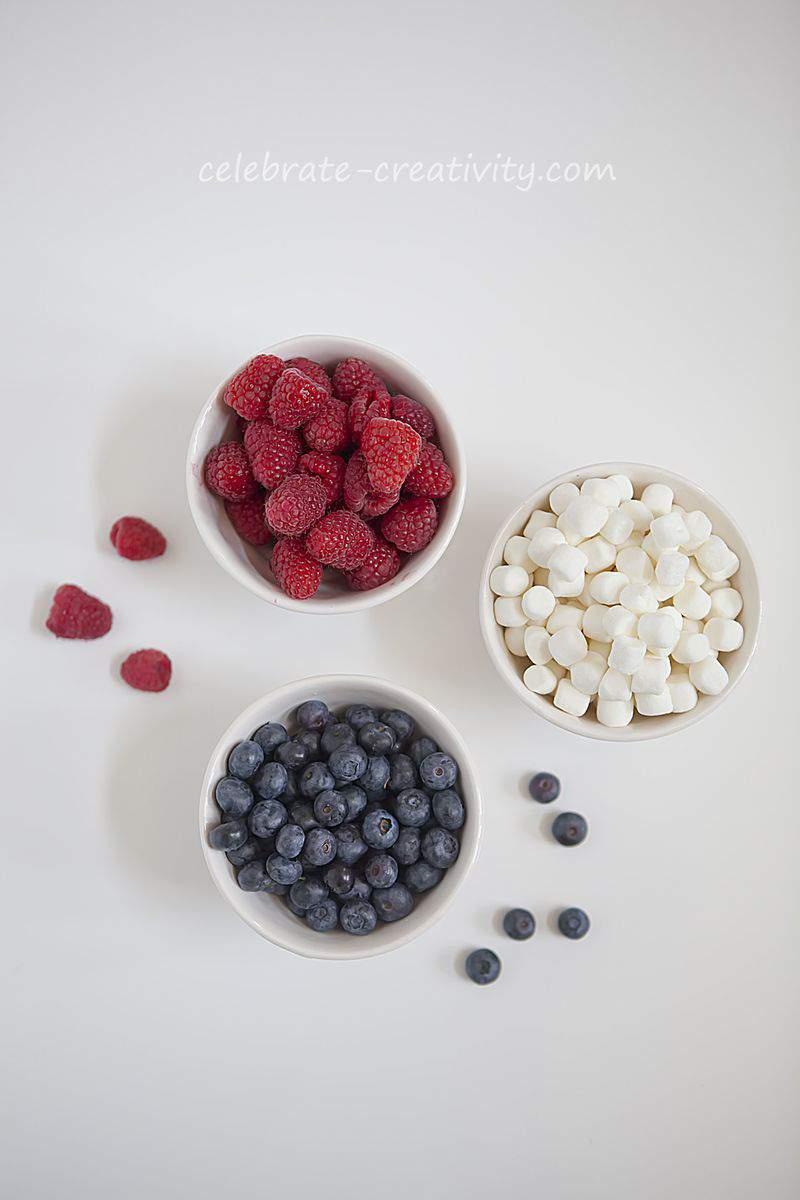 Berry flag bowls