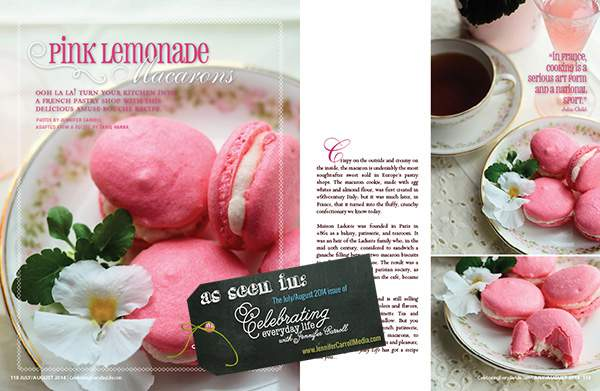 CEL JULY AUGMacarons