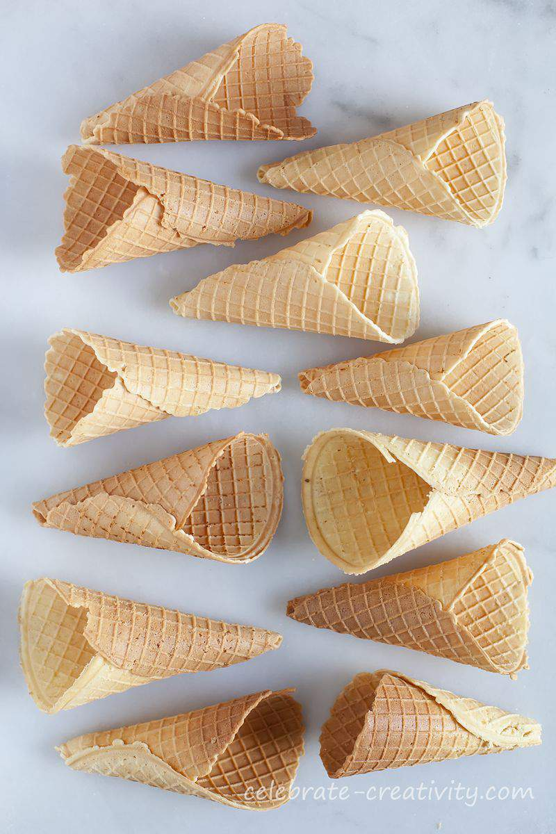 Waffle cones group